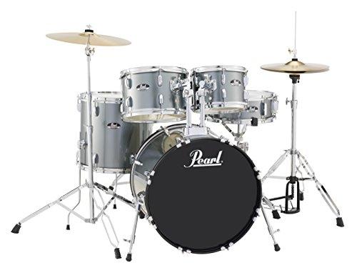 Pearl Roadshow RS505C/C706 5-Piece Drum Set, Charcoal Met...