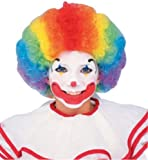 Clown Wig-Multi