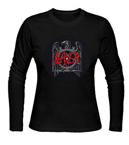 Slayer 'Eagle/Scratched Logo' Turntable Slipmat Long Sleeve