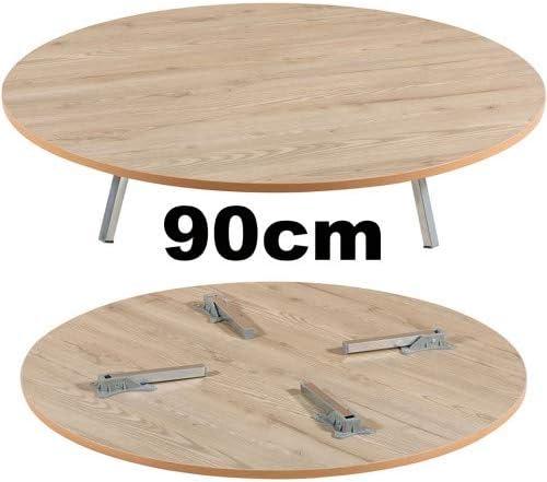 Dekonaz Traditional Dough Table Turkish Floor Dining Table 60 70 80 90 cm Wood Size Diameter 50 cm