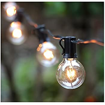 25ft g40 globe string light with 25 clear bulbs outdoor market 25ft g40 globe string light with 25 clear bulbs outdoor market lights for outdoor and aloadofball Image collections