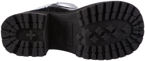 Demonia RANGER-302 - 0 Hombre Negro (Blk Vegan Leather)