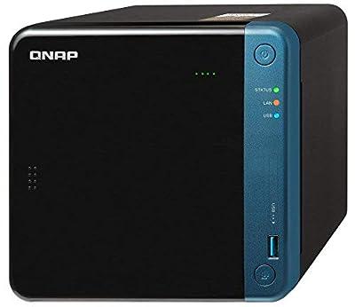 Qnap TS-453Be-4G-US +16TB (4GB RAM Version) 4-Bay Professional NAS | Bundled with 4 x 4TB Hard Drives
