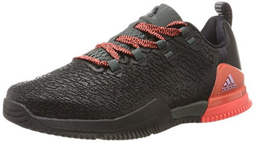 Night easy Gymnastique Coral red Femme S17 De Chaussures Black Adidas Multicolore F17 Crazypower W core Tr wqOOAP