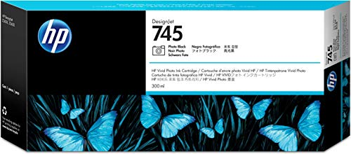 - Hp F9K04A 745 Photo Black Original Ink Cartridge