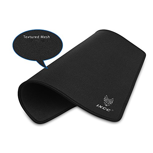 41ZG%2BDTtq4L - Limited-Edition-Final-Season-Now-or-Never-iXCC-Gaming-Mouse-Pad-Mat-with-Textured-Surface-and-Stitched-Edges-1310202-inches-Black