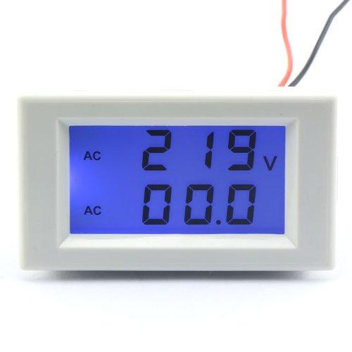 DROK® AC 380V 200-500V/100A Digital LCD Display Voltmeter Amperemeter Volt Gauge+Current Measure Sense Resistor