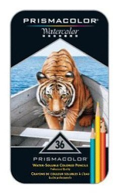 Coloring Books for Seniors: Including Books for Dementia and Alzheimers - Prismacolor Watercolor Pencils 36/Pkg-