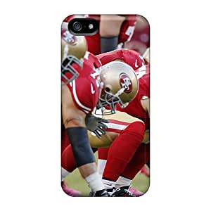 5/5s Scratch-proof Protection Case Cover For Iphone/ Hot San Francisco 49ers Start Phone Case