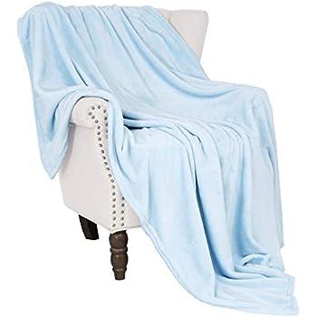 Exclusivo Mezcla Soft Flannel Fleece Velvet Plush Throw Blanket - 50