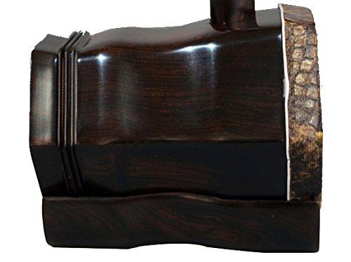 OrientalMusicSanctuary Black Sandalwood Erhu for Advanced Performers - Ebony Erhu