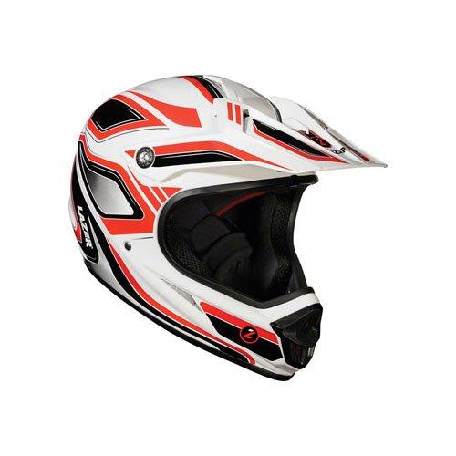 Lazer Phoenix Full-face Helmet: Red/White; LG