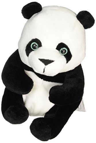 Wild Planet 24 cm Classic Panda Plush Toy (Multi-Colour) by Wild Planet