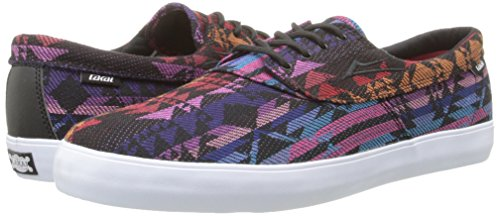 LAKAI Skateboard Shoes CAMBY BLACK TEXTILE
