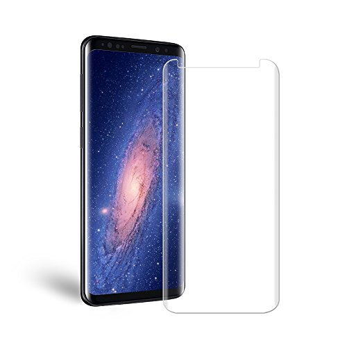 Galaxy S9 Glass Screen Protector, Auideas [9H Hardness] [Anti-scratches] [Anti-Fingerprint] [Bubble Free] Tempered Glass Screen Protector Film for Samsung Galaxy S9