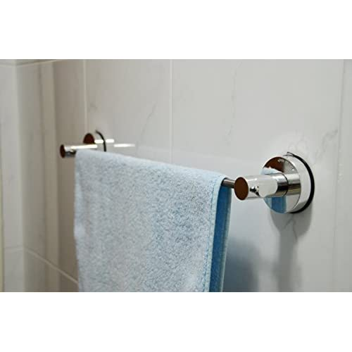 Genexice Suction Towel Bar - Chrome new