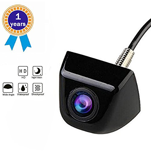 Backup Camera, Car Rear View Camera with Universal High Definition Wide Angle Normal Image Car Rear View Backup Camera 170 Degree Viewing Angle Lens 520 TV Lines for Car - Lens Definition Normal