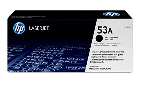 HP 53A (Q7553A) Black Original Toner Cartridge