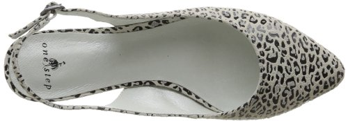 One mujer Cuir Animal Step Beige color Carm01im91 Bailarinas Beige para beige Imprime Carmel de cuero talla rrOWf0ZB
