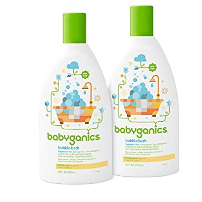 Babyganics Baby Bubble Bath, Chamomile Verbena