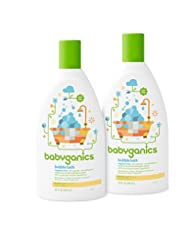 Babyganics Baby Bubble Bath, Fragrance Free, 20oz Bottle, (Pa...