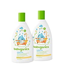 Babyganics Baby Bubble Bath, Fragrance Free, 20oz Bottle, (Pack of 2) BOBEBE Online Baby Store From New York to Miami and Los Angeles