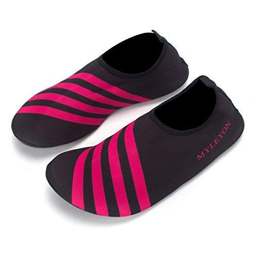 fab3084bf best Men Women and Kids Quick-Dry Water Shoes Lightweight Aqua Socks For Beach  Pool