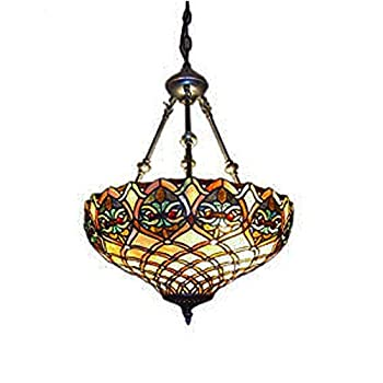Tiffany Style Mission Hanging Pendant Light