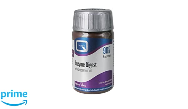 Quest Enzyme Digest - Pack of 90 Tablets: Amazon.es: Electrónica