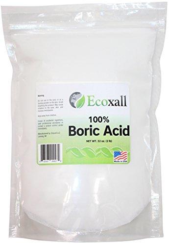 Ecoxall - Fine Granular Boric Acid Powder 99.9% Pure Anhydrous 2 lb. ()