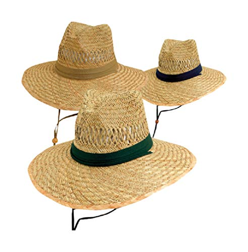 (Dorfman Pacific ACE388 Big Brim Rush Straw Hat (Pack of 12) )