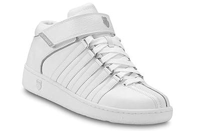 new arrival 106db 583a3 Amazon.com | K-swiss Men's Classic Mid Strap Shoes (6.5 ...