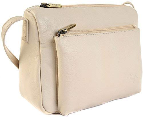 Shoulder Crossbody Handbag 16267 Small Leather Othello Bag GIGI Ivory Red xAFvwPn