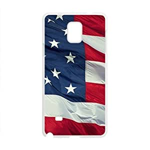 American Flag White Phone Case for Samsung Galaxy Note4Kimberly Kurzendoerfer