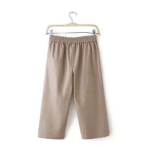 JOTHIN - Pantalón - Pantalones Boot Cut - para mujer caqui