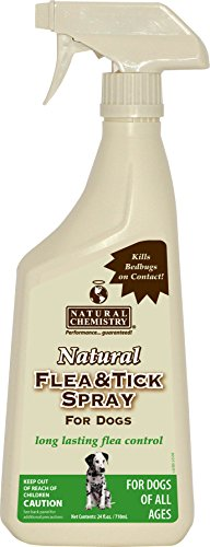 Natural Flea & Tick Spray for Dogs 24oz