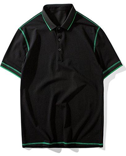 Balobo Tシャツ メンズ 半袖 ゴルフ ゴルフシャツ スポーツ カジュアル 快適通気性 ティーシャツメンズ 大きい サイズ 105