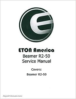 Eton beamer scooter service manual.