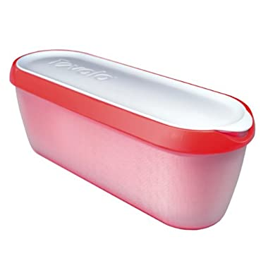Tovolo Glide-A-Scoop Ice Cream Tub - Strawberry Sorbet