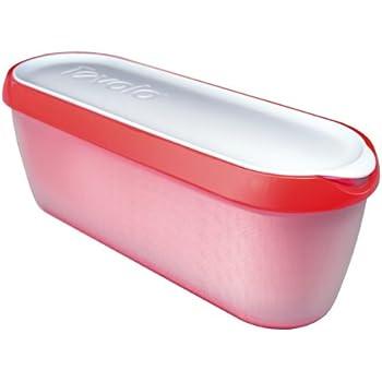 Tovolo Glide-A-Scoop Ice Cream Tub - Strawberry Sorbet