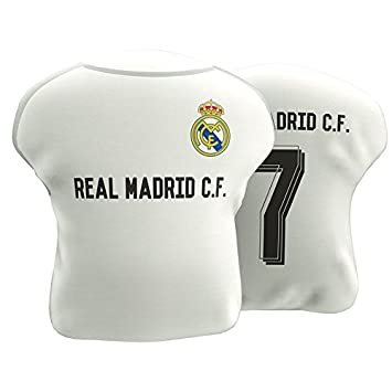Cojin antiestres Real Madrid forma camiseta