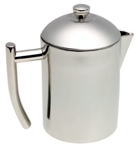 Frieling USA  18/10 Stainless Steel Tea Maker with Infuser Basket, - Stainless Carafe Steel Frieling
