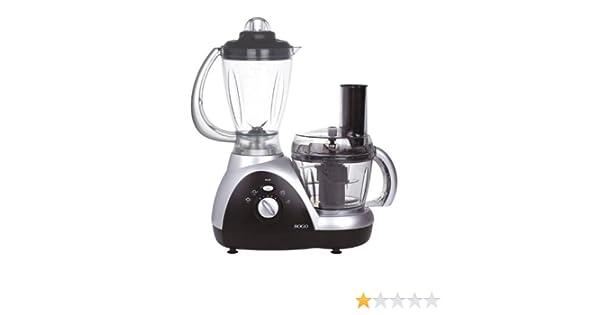 Sogo SS-5060 - Robot de cocina multifunción, color negro y ...