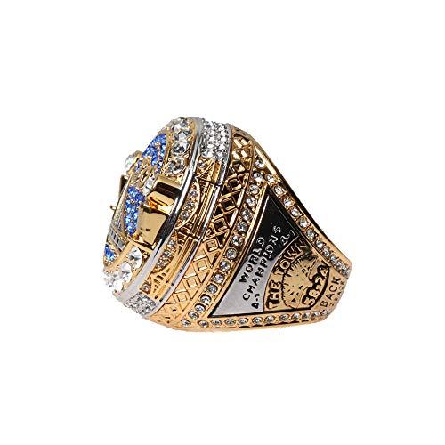 Haidao Blockchain Tech Warriors Replica Championship Ring 2018 MVP Curry Durant GS18 Size 9-12