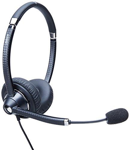 Duo Stereo Headset (Jabra UC VOICE 750 Duo (Dark) Corded Headset for Softphone)
