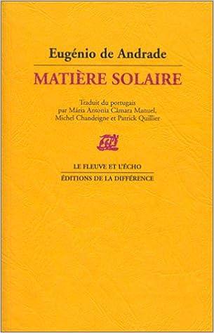 Livre gratuits en ligne Matière solaire epub, pdf