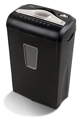 Aurora AU870MA High-Security 8-Sheet Micro-Cut Paper Credit Card Shredder Black from Aurora