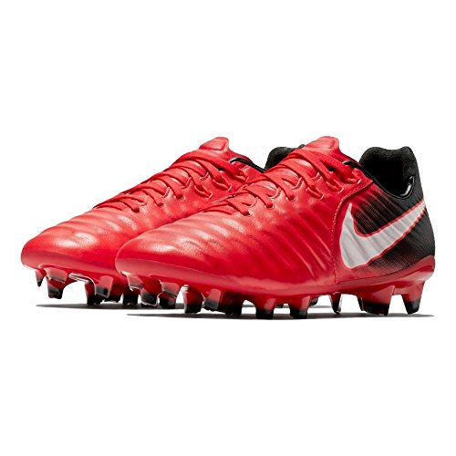 Pictures of NIKE Youth Tiempo Legend VII FG Cleats [ 897728 University Red 4.5 M US Big Kid 2