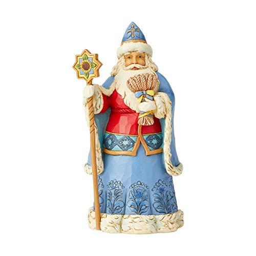 Enesco Jim Shore Heartwood Creek Ukrainian Santa (Christmas Orthodox Ukraine)
