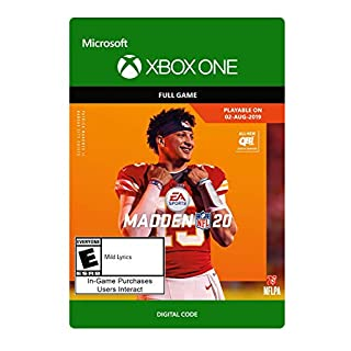 Madden NFL 20 Standard Edition - Xbox One [Digital Code]
